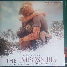 Discos de vinilo: LO IMPOSIBLE - BSO LP. Lote 94995991