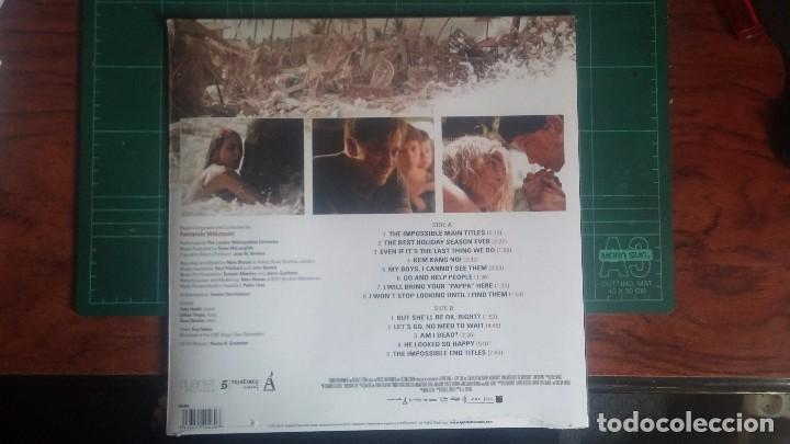 Discos de vinilo: LO IMPOSIBLE - BSO LP - Foto 2 - 94995991