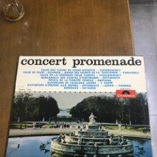 Discos de vinilo: CONCERT PROMENADE LP MADE IN FRANCÉ. Lote 95003312