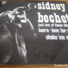Discos de vinilo: SIDNEY BECHET - LOVE FOR SALE + 3***** SUPER RARO EP ESPAÑOL 1966. Lote 95018687