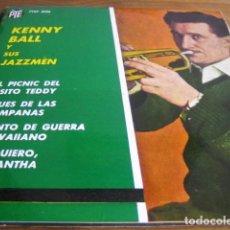 Discos de vinilo: KENNY BALL & HIS JAZZMEN ***** SUPER RARO EP ESPAÑOL 1963. Lote 95018735