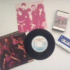 Discos de vinilo: ALASKA Y LOS PEGAMOIDES - GRANDES ÉXITOS + SINGLE BAILANDO. Lote 95036904