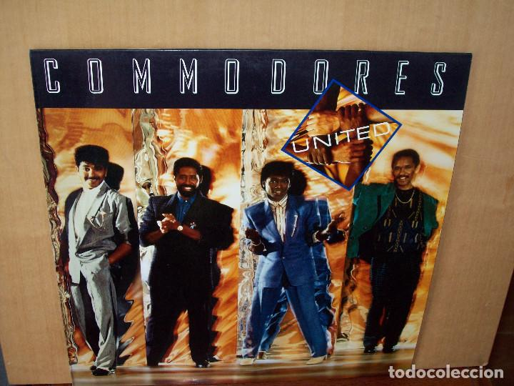 COMMODORES - UNITED - LP 1986 (Música - Discos - LP Vinilo - Funk, Soul y Black Music)