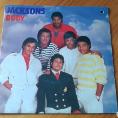 Discos de vinilo: SINGLE BODY THE JACKSONS MICHAEL JACKSON. Lote 95048132