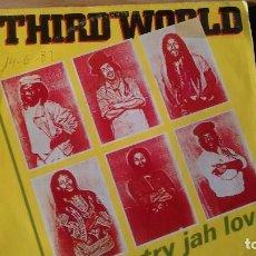 Discos de vinilo: SINGLE (VINILO) DE THIRD WORLD AÑOS 80. Lote 95051339