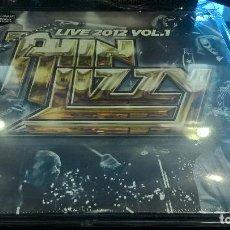 Discos de vinilo: MUSICA LP HEAVY THIN LIZZY LIVE 2012 VOL 1 DOBLE 2 DISCOS PRECINTADO DIFICIL PL. Lote 95054035