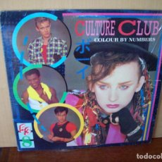 Disques de vinyle: CULTURE CLUB - COLOUR BY NUMBERS - LP 1983. Lote 95065351
