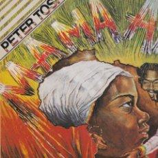 Discos de vinilo: LP PETER TOSH MAMÁ ÁFRICA. 1983. SPAIN (DISCO PROBADO Y BIEN). Lote 128708406