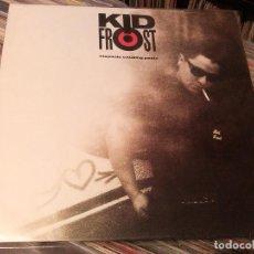 Discos de vinilo: KID FROST - HISPANIC CAUSING PANIC (LP, ALBUM) 1990 UK. Lote 95086119