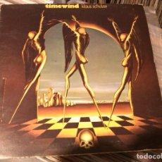 Discos de vinilo: KLAUS SCHULZE - TIMEWIND LP SPAIN. Lote 95086179
