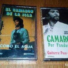Discos de vinilo: CAMARON 2 CINTAS CASSETE . Lote 95087195