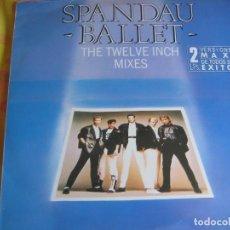 Discos de vinilo: SPANDAU BALLET DOBLE LP 1986 - THE TWELVE INCH MIXES - NEW ROMANTICS. Lote 95096591