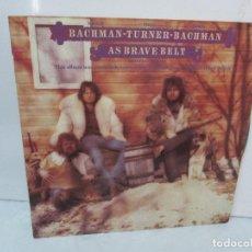 Discos de vinilo: R. BACHMAN - F. TURNER - R. BACHMAN. AS BRAVE BELT. REPRISE ALBUM. LP VINILO. HISPAVOX 1975. Lote 95101095