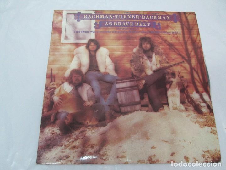 Discos de vinilo: R. BACHMAN - F. TURNER - R. BACHMAN. AS BRAVE BELT. REPRISE ALBUM. LP VINILO. HISPAVOX 1975 - Foto 2 - 95101095