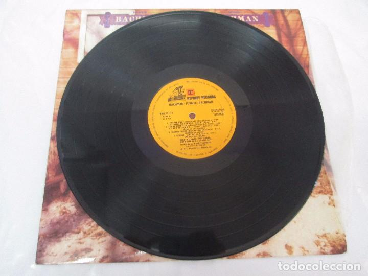 Discos de vinilo: R. BACHMAN - F. TURNER - R. BACHMAN. AS BRAVE BELT. REPRISE ALBUM. LP VINILO. HISPAVOX 1975 - Foto 3 - 95101095