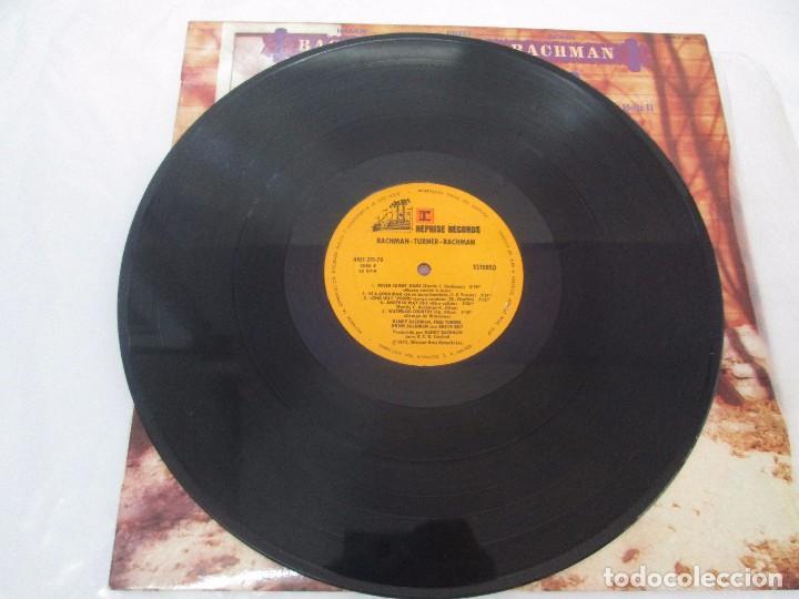 Discos de vinilo: R. BACHMAN - F. TURNER - R. BACHMAN. AS BRAVE BELT. REPRISE ALBUM. LP VINILO. HISPAVOX 1975 - Foto 5 - 95101095