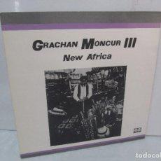 Discos de vinilo: GRACHAN MONCUR III. NEW AFRICA. LP VINILO. AFFINITY AUVI. 1982. VER FOTOGRAFIAS ADJUNTAS. Lote 95101723