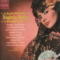 Discos de vinilo: LIGHTLY LATIN - WITH THE INTERNATIONAL HIS ORCHESTRA LP MFP DE 1968 RF-3673. Lote 95101951