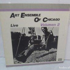 Discos de vinilo: ART ENSEMBLE OF CHICAGO. LIVE. VOLUMEN 2. LP VINILO. AFFINITY AUVI. 1982. VER FOTOGRAFIAS. Lote 95101995