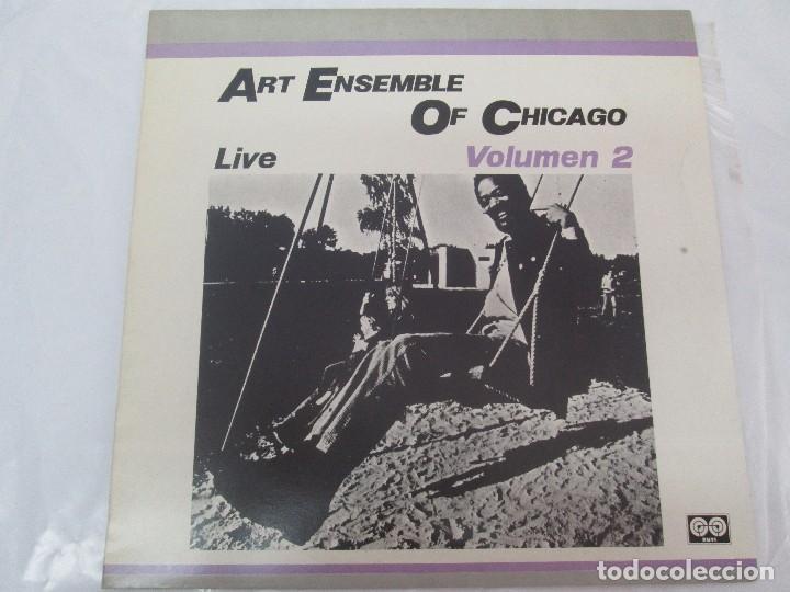 Discos de vinilo: ART ENSEMBLE OF CHICAGO. LIVE. VOLUMEN 2. LP VINILO. AFFINITY AUVI. 1982. VER FOTOGRAFIAS - Foto 2 - 95101995
