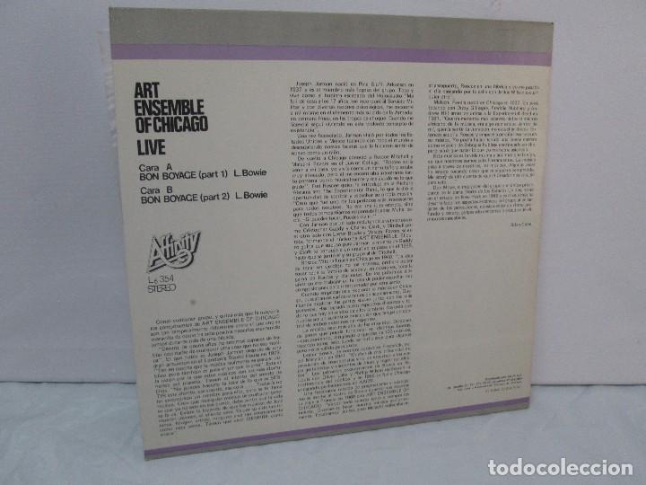 Discos de vinilo: ART ENSEMBLE OF CHICAGO. LIVE. VOLUMEN 2. LP VINILO. AFFINITY AUVI. 1982. VER FOTOGRAFIAS - Foto 8 - 95101995