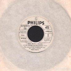 Discos de vinilo: ANA MARIA DRACK - LA DEL METRO / CANCION A SILVIA / SINGLE PHILIPS DE 1972 RF-2951. Lote 95103923