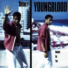 Discos de vinilo: SIDNEY YOUNGBLOOD - HOOKED ON YOU + BODY AND SOUL SINGLE UK 1991 EXCELLENT CONDITION. Lote 95104171