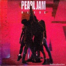 Discos de vinilo: PEARL JAM - ALIVE (NO SIDE B) SINGLE SPAIN PROMO 1991 EXCELLENT CONDITION. Lote 95104211