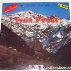 Discos de vinilo: D. TWINS - FALLING - ORIGINAL REMIXES TAKEN FROM THE SOUNDTRACK TWIN PEAKS - 1991 ITALY (4 VERS). Lote 95106355