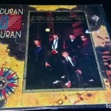 Discos de vinilo: MUSICA LP DURAN DURAN SEVEN AND THE RAGGED TIGER DOBLE 2 VINILOS PRECINTADO JOYA LIMITED EDITION . Lote 95111323