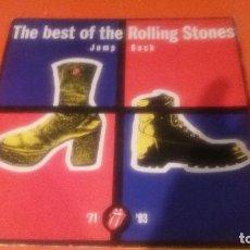 Discos de vinilo: LP - THE ROLLING STONES - THE BEST OF THE ROLLING STONES JUMP BACK DOBLE LP 1993 EDICION INGLESA . Lote 95112711