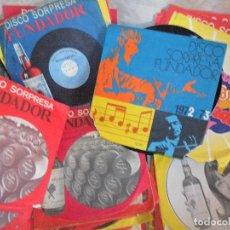 Discos de vinilo: LOTE DE 40 DISCOS SORPRESA FUNDADOR -- VARIOS GRUPOS Y SOLISTAS --. Lote 95137747
