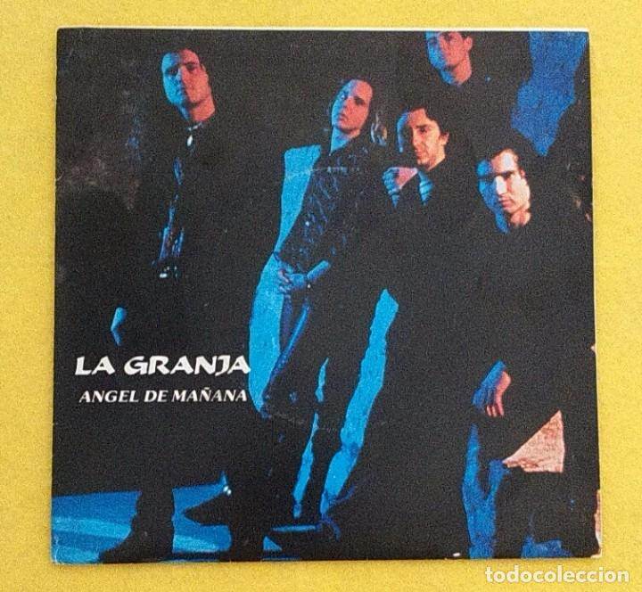 Discos de vinilo: LA GRANJA ANGEL DE MAÑANA SINGLE VINILO POWER POP NUEVA OLA MALLORCA - Foto 1 - 95145215
