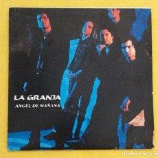 Discos de vinilo: LA GRANJA ANGEL DE MAÑANA SINGLE VINILO POWER POP NUEVA OLA MALLORCA. Lote 95145215
