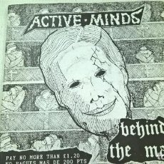 Discos de vinilo: ACTIVE MINDS-BEHIND THE MASK-N. Lote 95154339