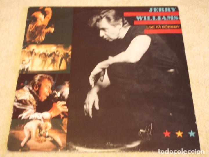 JERRY WILLIAMS ( LIVE PÄ BÖRSEN ) 1990-SWEDEN LP33 SONET GRAMMOFON (Música - Discos - LP Vinilo - Pop - Rock Extranjero de los 90 a la actualidad)