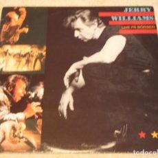 Discos de vinilo: JERRY WILLIAMS ( LIVE PÄ BÖRSEN ) 1990-SWEDEN LP33 SONET GRAMMOFON. Lote 95155039