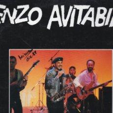 Discos de vinilo: MAXI SINGLE ENZO AVITABILE. SOUL EXPRES. 1988. SPAIN. DISCO PROBADO Y BIEN. Lote 95159491