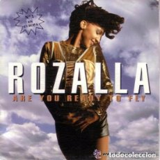 Discos de vinilo: ROZALLA - ARE YOU READY TO FLY - SINGLE PROMO 1992. Lote 95161723