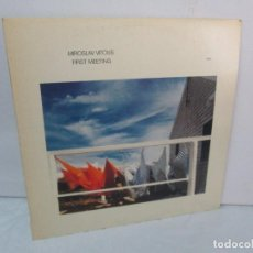 Discos de vinilo: MIROSLAV VITOUS. FIRST MEETING. LP VINILO. ECM RECORDS 1980. VER FOTOGRAFIAS ADJUNTAS. Lote 95163919