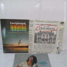 Discos de vinilo: LARRY CORYELL. RETURN. THE RESTFUL MIND. TWIN HOUSE. LP VINILO. VER FOTOGRAFIAS ADJUNTAS. Lote 95164539