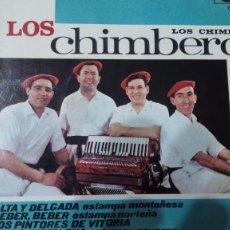 Discos de vinilo: LOS CHIMBEROS ALTA Y DELGADA +3 EP ZAFIRO. Lote 95167327
