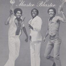Discos de vinilo: MAXI SINGLE ROOTS UPRISING AND RINGO. JAMMING. MASTER BLASTER. DISCO PROBADO Y EN BUEN ESTADO. Lote 95168331
