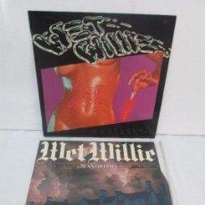 Discos de vinilo: WET WILLIE. MANORISMS. THE WETTWE THE BETTER. 2 LP VINILO. EPIC 1978. CAPRICORIN RECORDS 1977. Lote 95174403