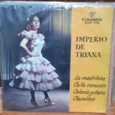 Discos de vinilo: IMPERIO DE TRIANA / COLUMBIA ECGE 71743. Lote 95175867
