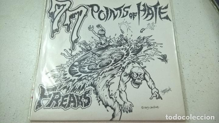 FREAKS ?– 77 POINTS OF HATE-N (Música - Discos - Singles Vinilo - Punk - Hard Core)