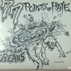 Discos de vinilo: FREAKS ?– 77 POINTS OF HATE-N. Lote 95186411
