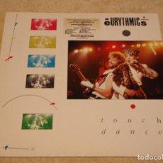 Discos de vinilo: EURYTHMICS ( TOUCH DANCE ) 1984-GERMANY LP33 RCA. Lote 95201347