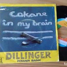 Discos de vinilo: SINGLE (VINILO) DE DILLINGER AÑOS 70. Lote 95205015