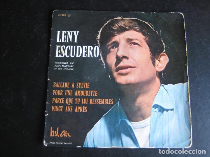 LENY ESCUDERO EP BEL AIR BALLADE A SYLVIE +3 EDICION FRANCESA (Música - Discos de Vinilo - EPs - Canción Francesa e Italiana)